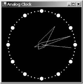 Code Clock Analog Vb8
