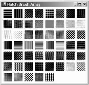 Square Shingle Hatch Pattern