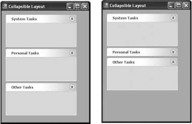 The Collapsible Panel Control - Visual Studio - Visual Basic